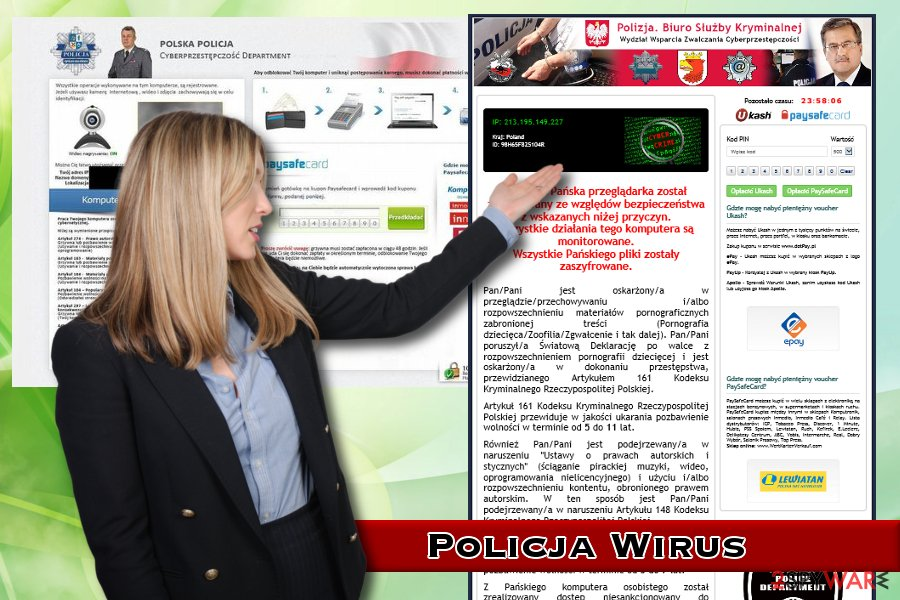 Polska Policja wirus