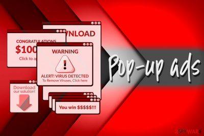 Pop up virus
