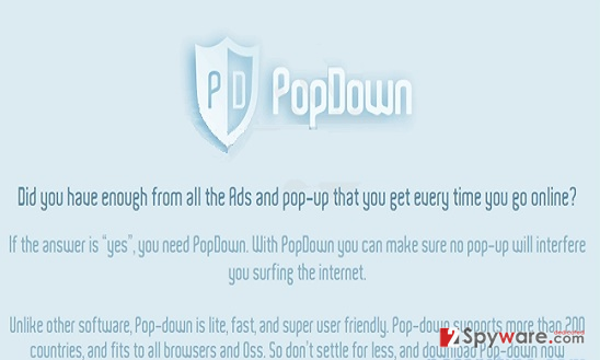 Ads by PopDown