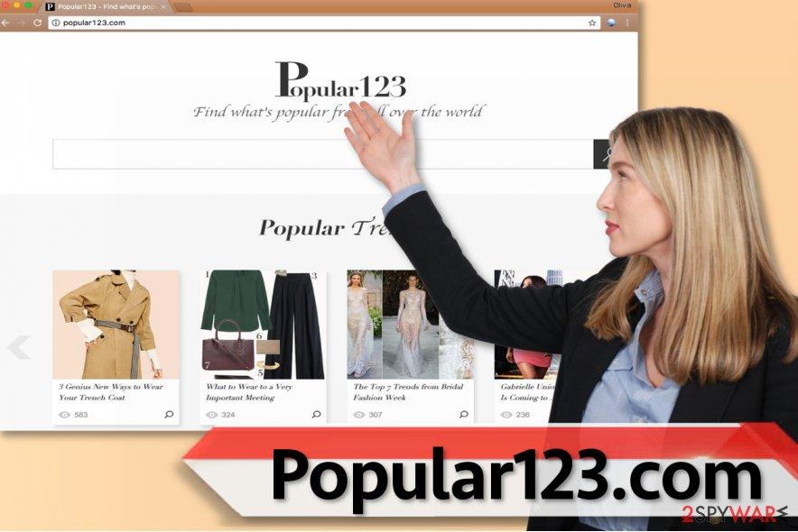 Popular123.com redirect virus