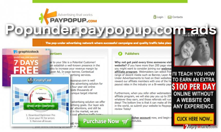 Image of Popunder.paypopup.com