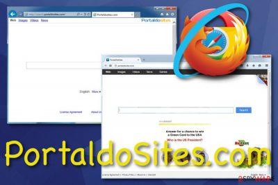 PortaldoSites.com browser hijacker