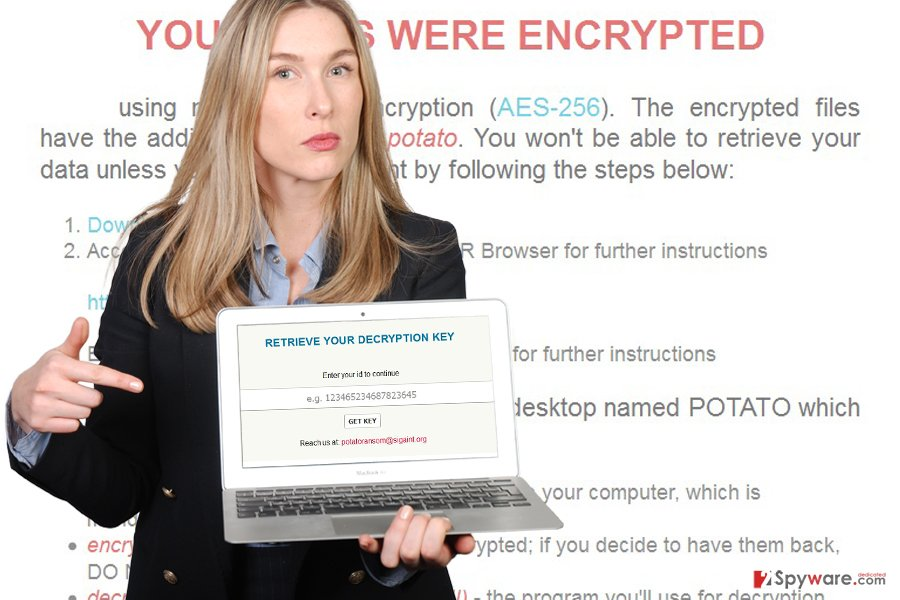 Potato ransomware virus