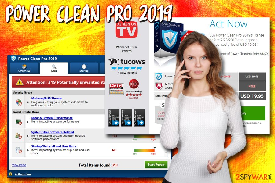 Power Clean Pro 2019 virus