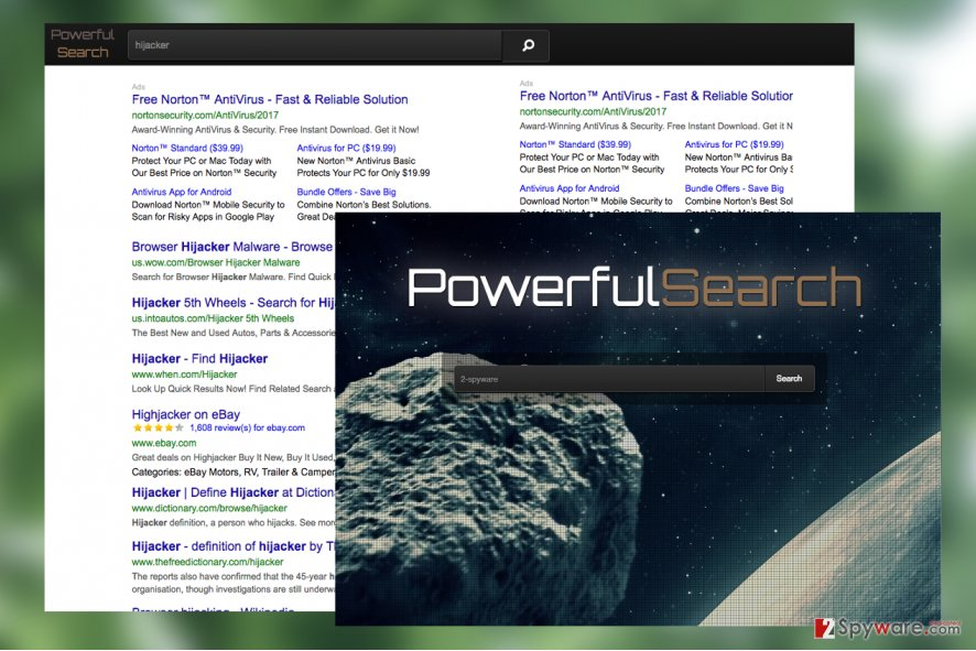 PowerfulSearch.net virus