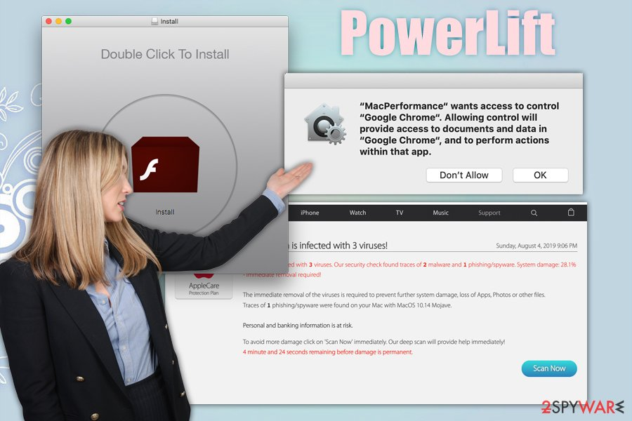 PowerLift adware