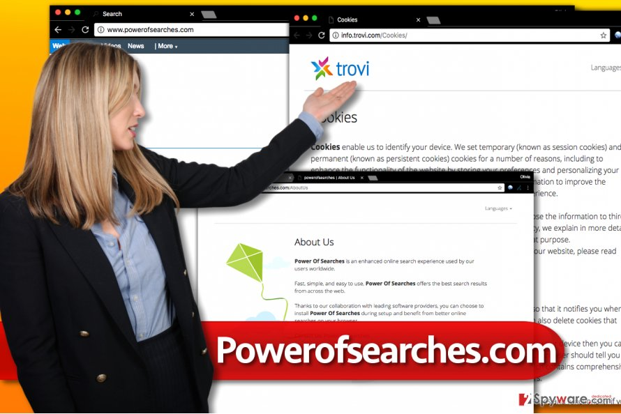 Powerofsearches.com browser redirect virus