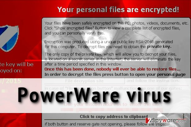PowerWare virus