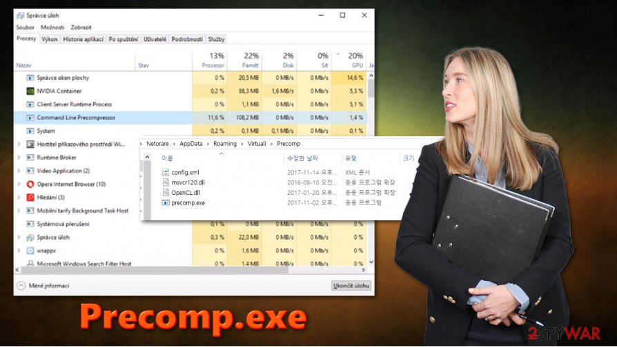 Precomp.exe virus