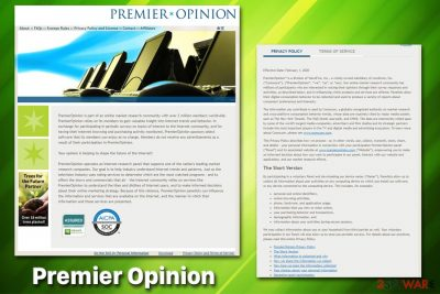 Premier Opinion rogue app