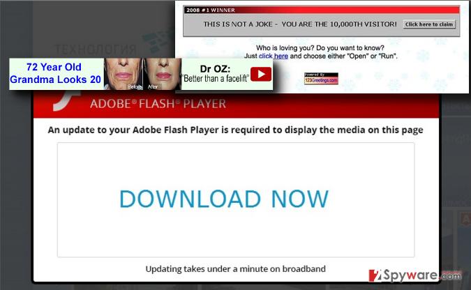 Newdlsoftware.com pop-up virus