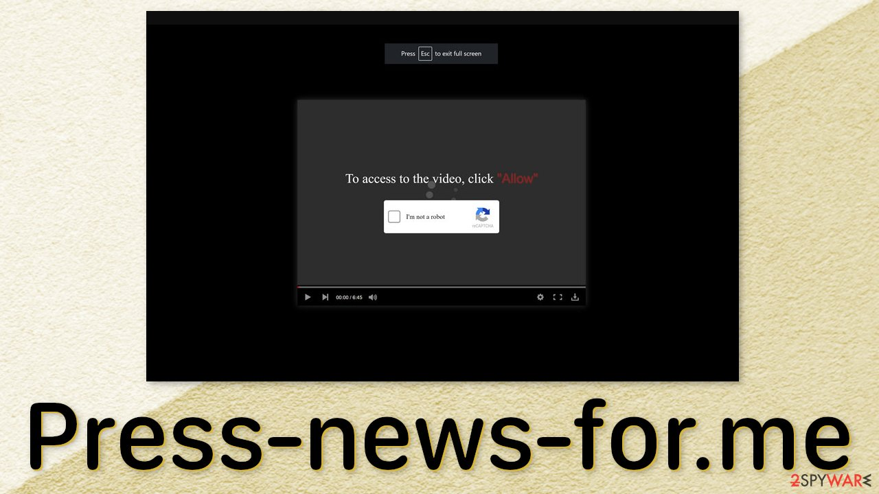Press-news-for.me ads