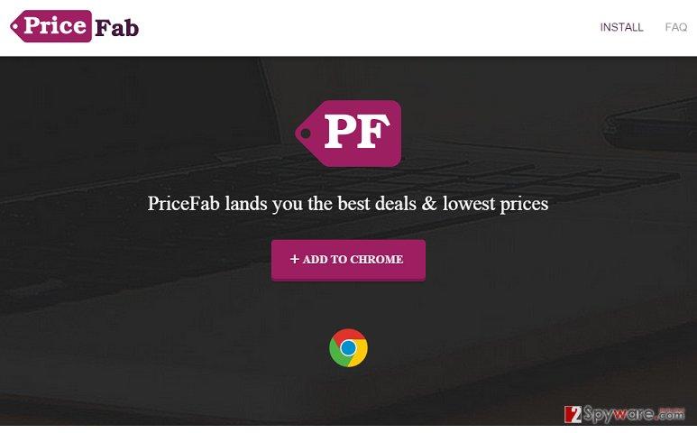 Price Fab ads