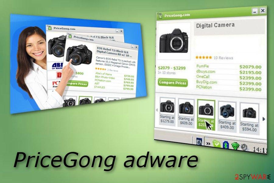 PriceGong adware