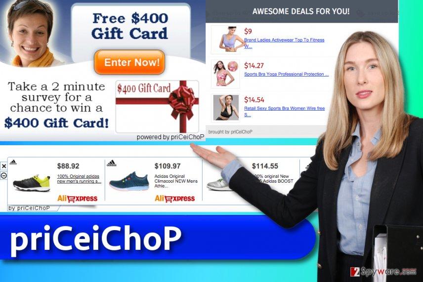 priCeiChoP ads