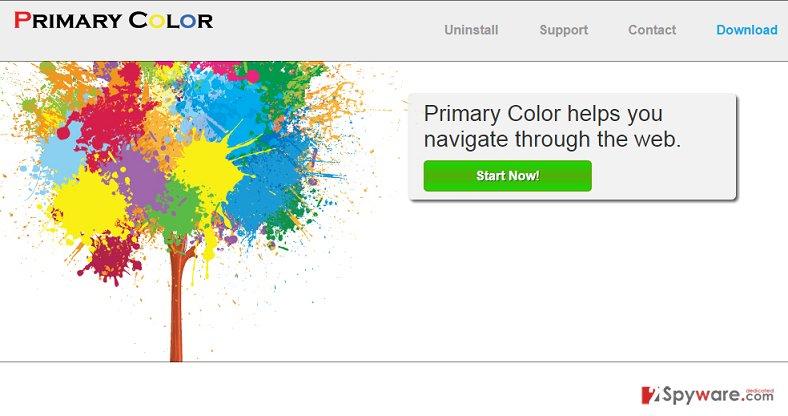 Primary Color virus