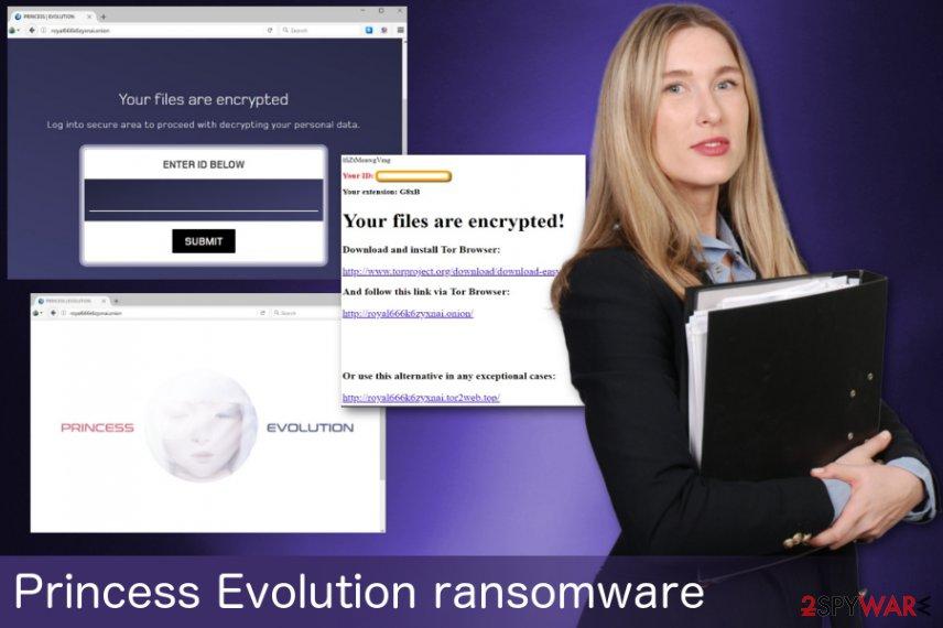 Princess Evolution ransomware