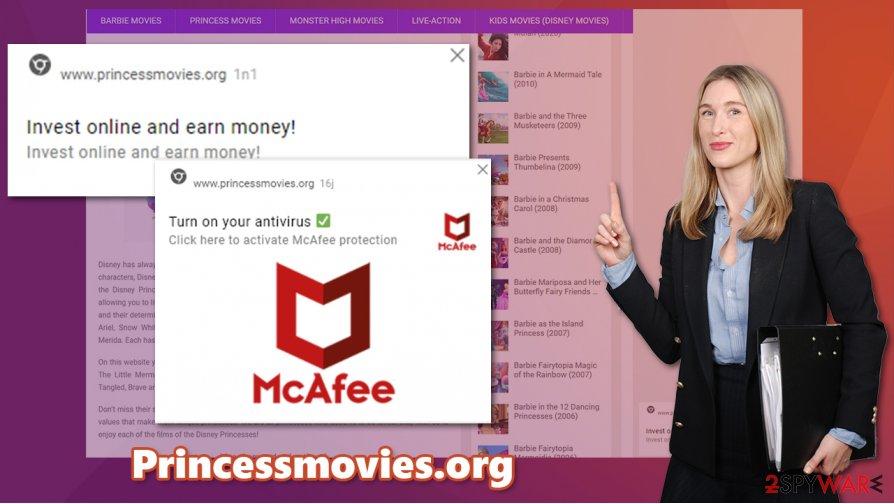 Princessmovies.org ads