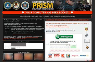 Nsa virus - PRISM ransomware