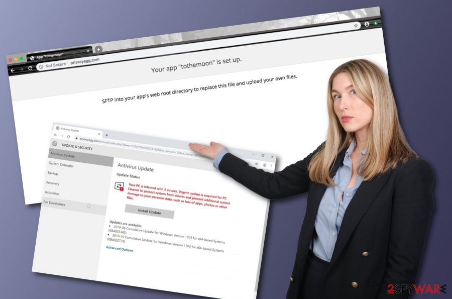 Privacyegg.com virus