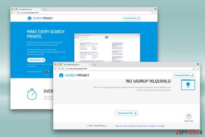 Privacysearch.link redirect virus