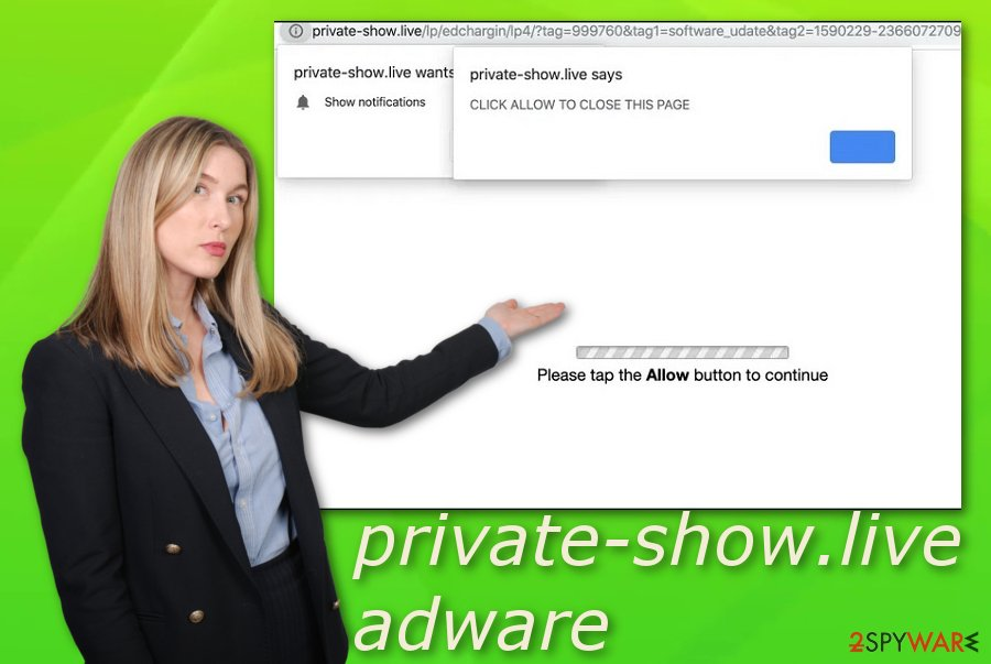 Private-show.live virus