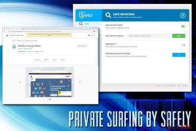 Private surfing by Safely
