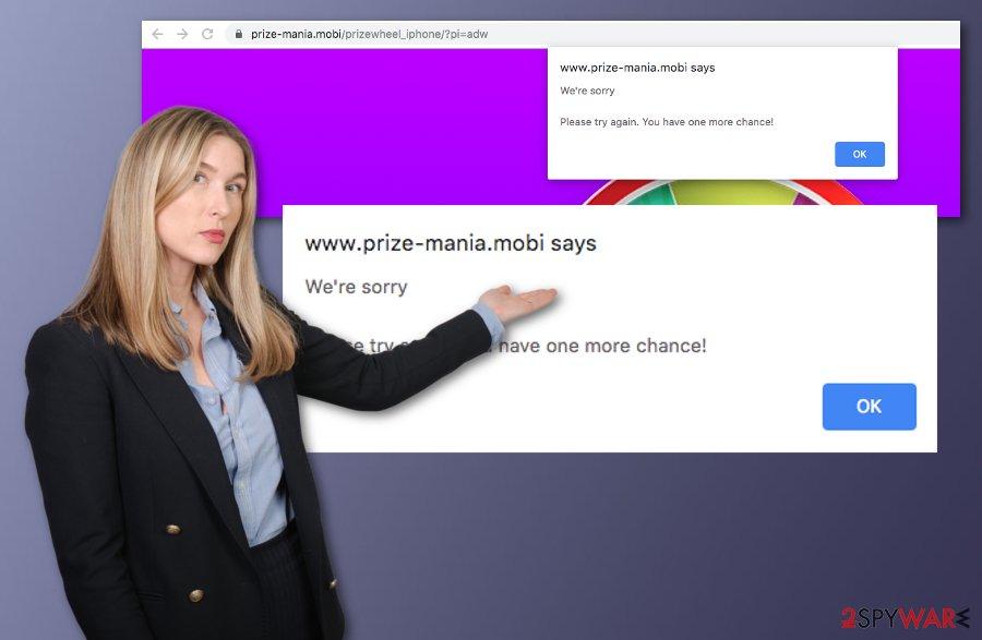 Prize-mania.mobi adware
