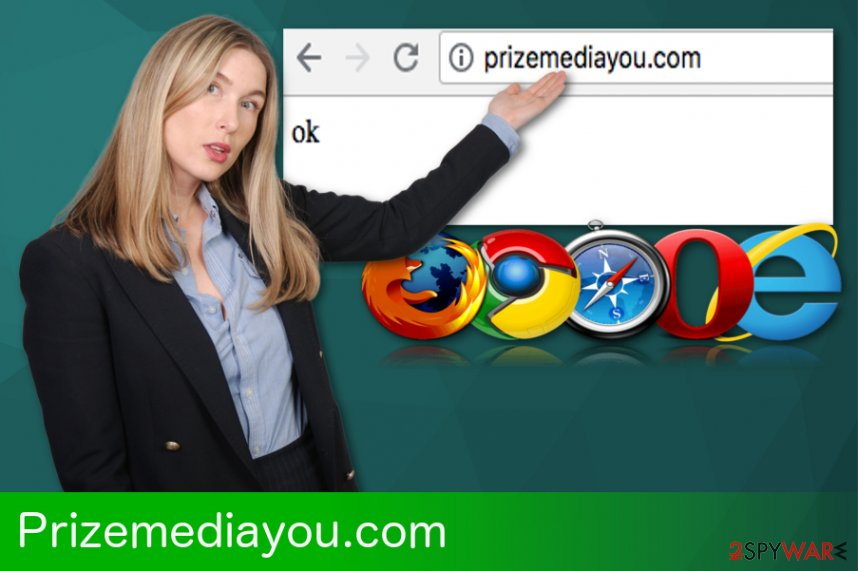 Prizemediayou.com redirect