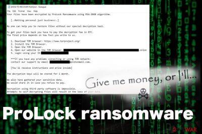 ProLock ransomware
