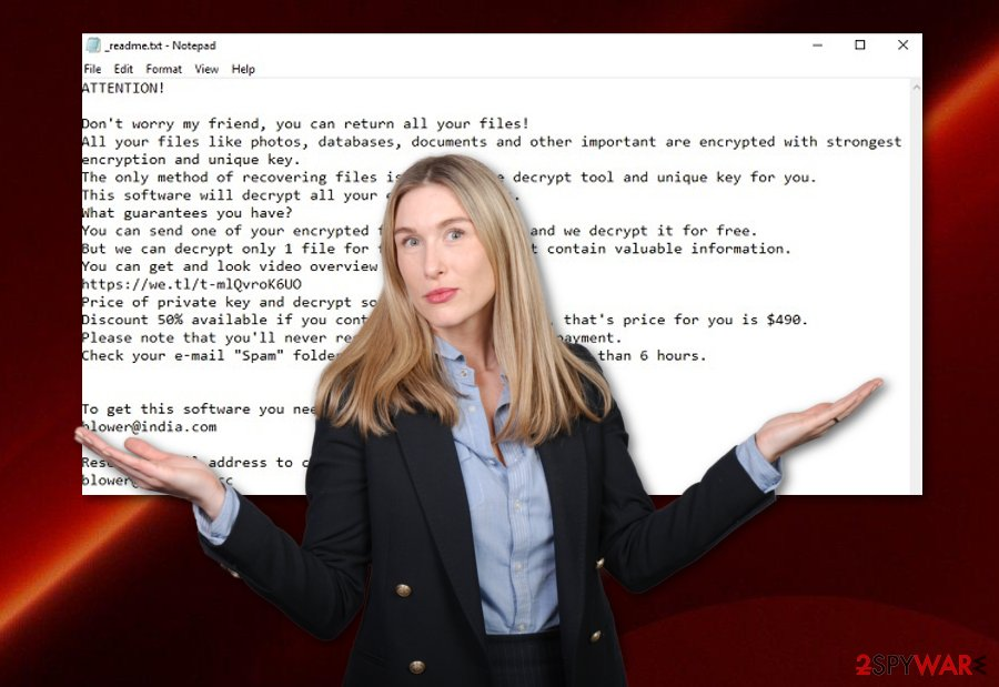 Promock ransomware
