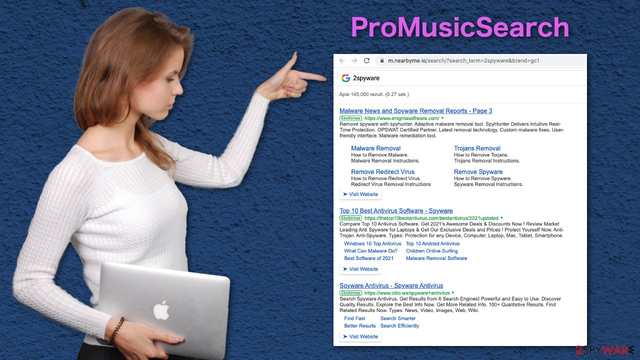 ProMusicSearch results