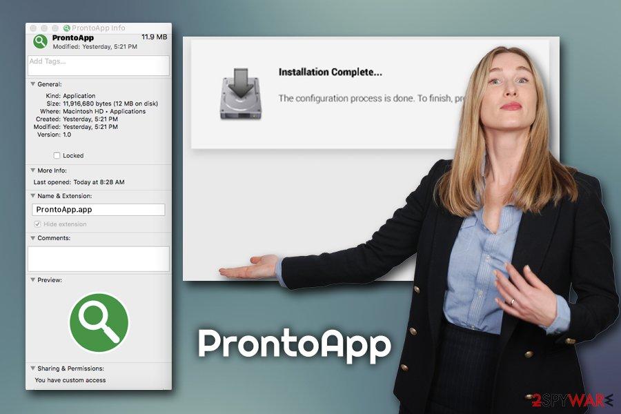 ProntoApp  adware
