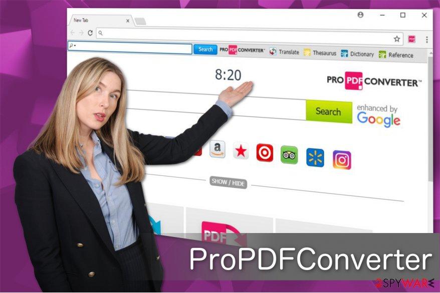ProPDFConverter virus illustration