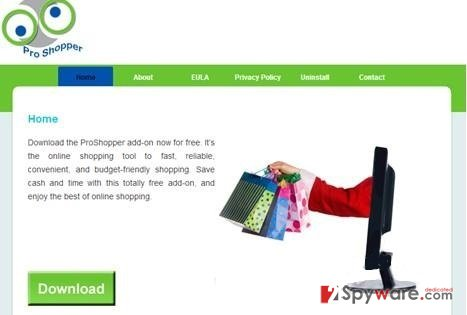 ProShopper virus snapshot