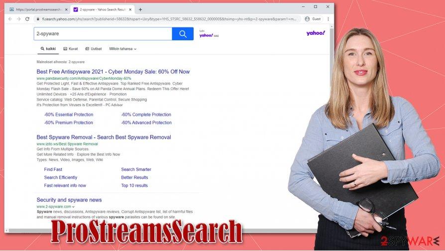 ProStreamsSearch hijack