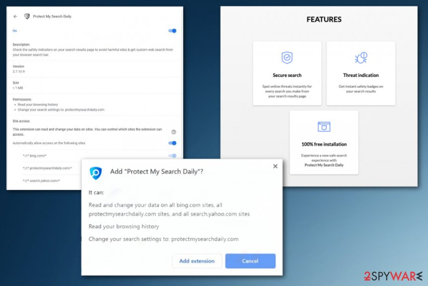 ProtectMySearchDaily virus