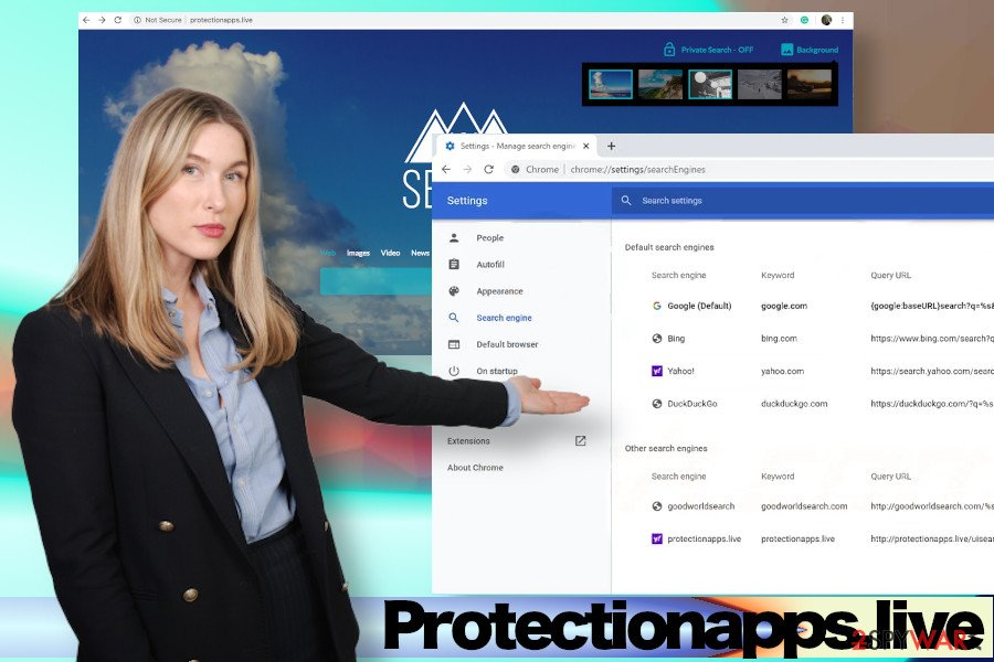 Protectionapps.live virus