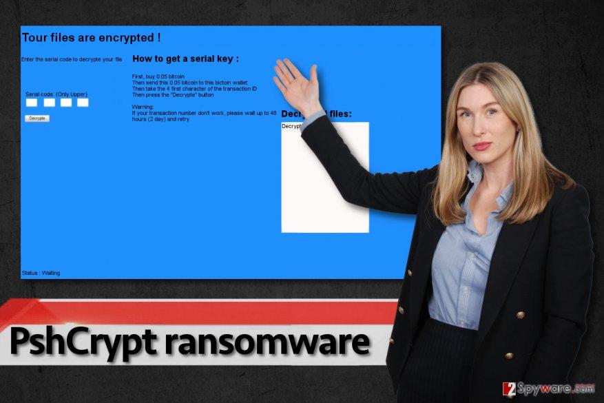 PshCrypt ransomware virus