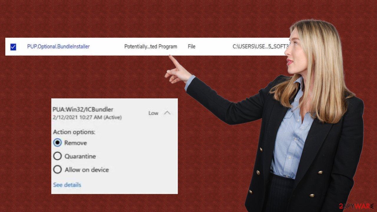 PUA:Win32/ICBundler adware