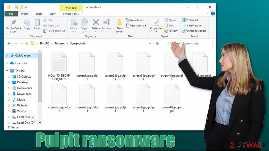 Pulpit ransomware virus