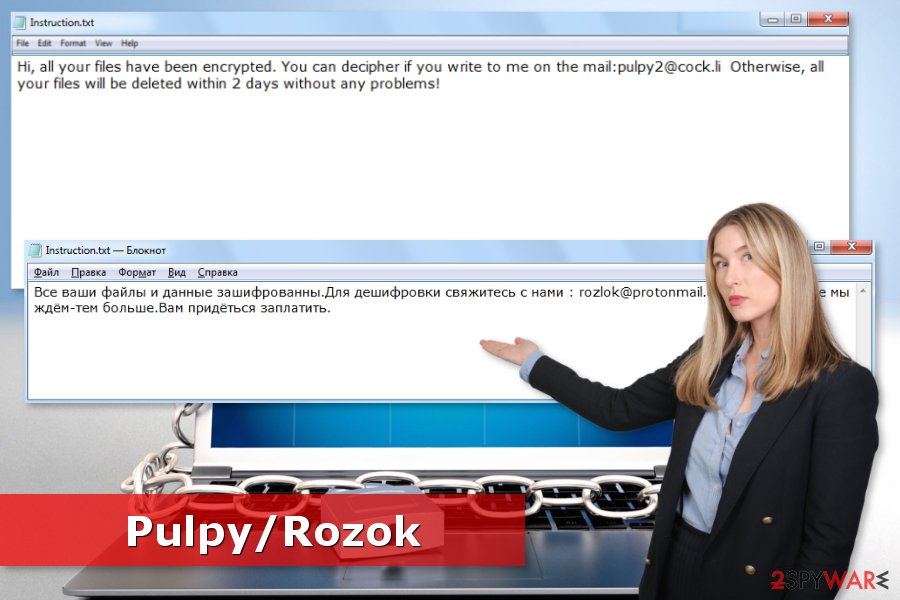 Image of Pulpy ransomware