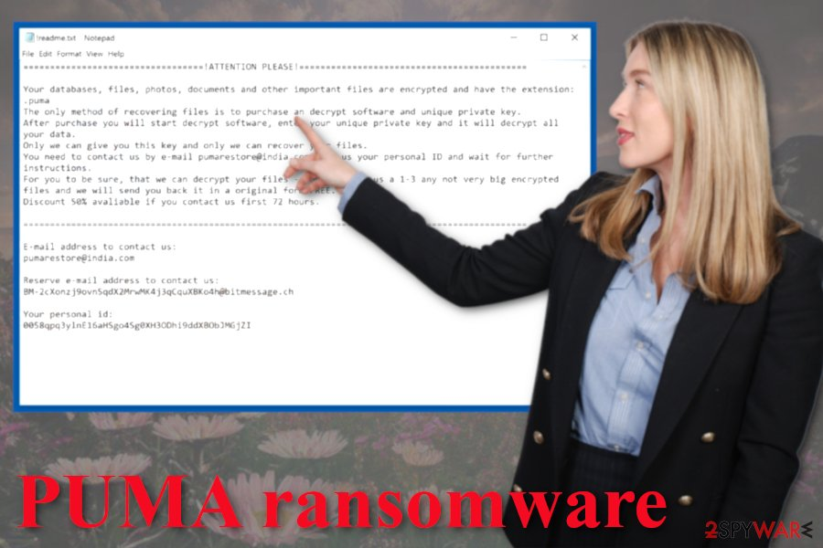 PUMA ransomware virus