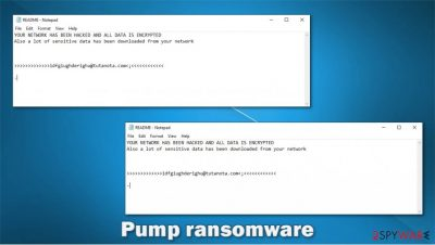 Pump ransomware