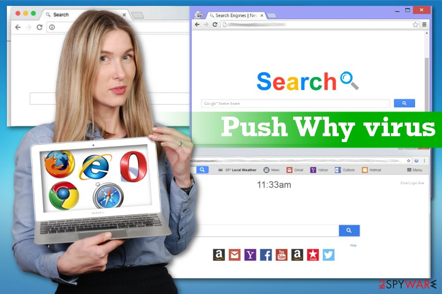 Push Why browser hijacker