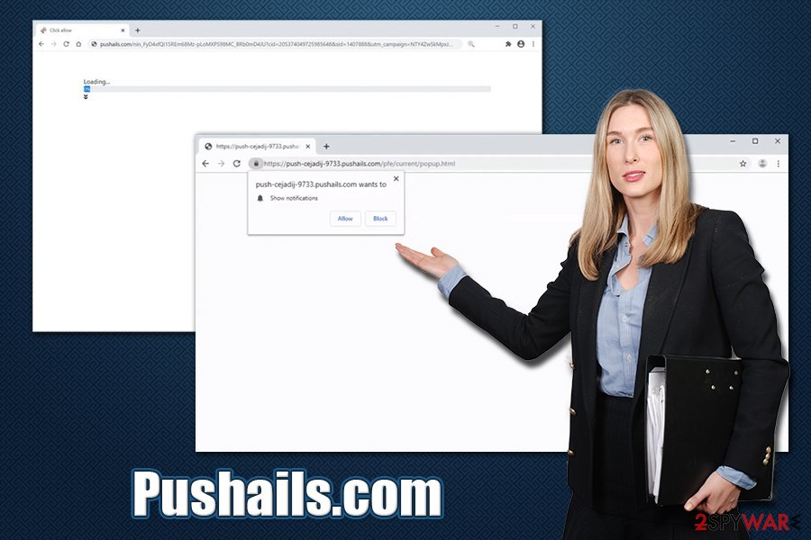Pushails.com virus
