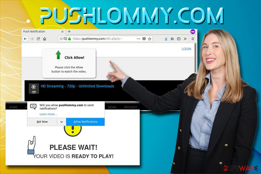 Pushlommy.com virus