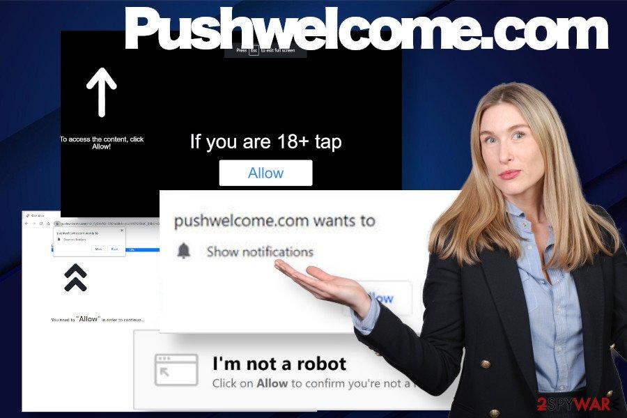 Pushwelcome.com ads