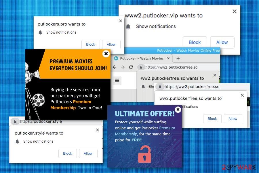 Putlocker malware
