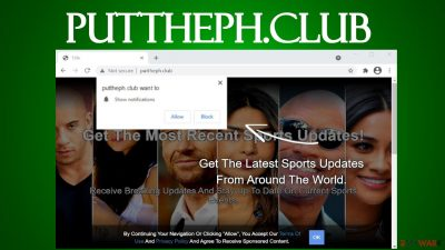 Puttheph.club notifications